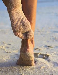 Gepflege Füße im Sommer