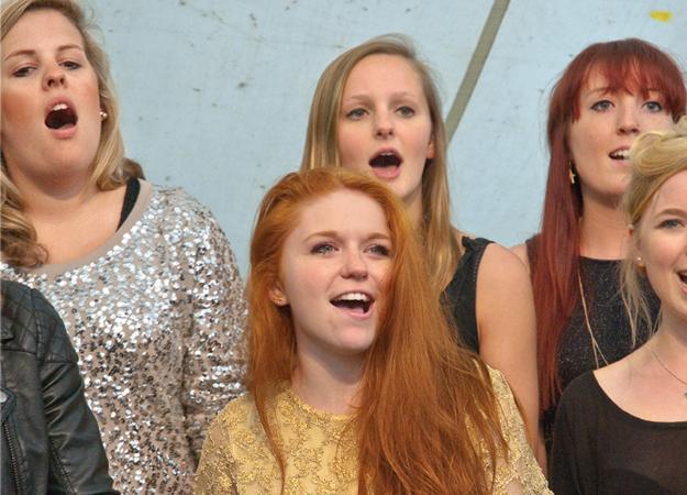 Singen in der Gemeinschaft macht noch mehr Spaß