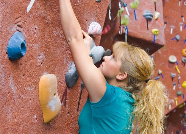 Klettern ist ein optimales Ganzkörpertraining