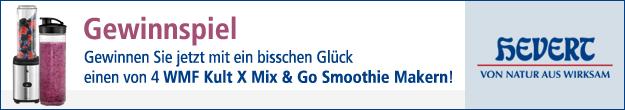 medpex Gewinnspiel WMF Kult X Mix & Go Smoothie Maker
