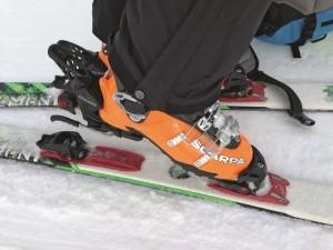 Skitourengehen Bindung