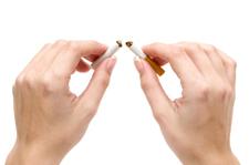Zigarette durchbrechen