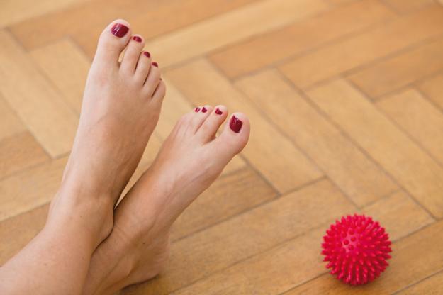 Fußübungen gegen Fehlbelastungen