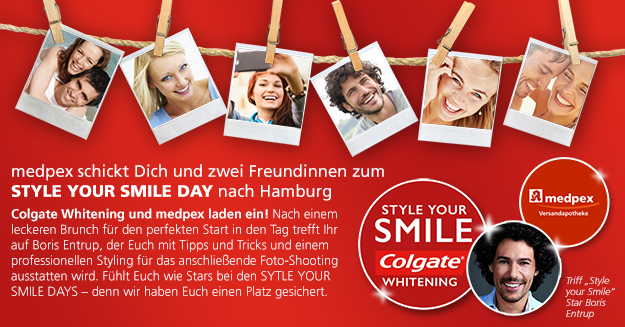 STYLE YOUR SMILE DAY in Hamburg