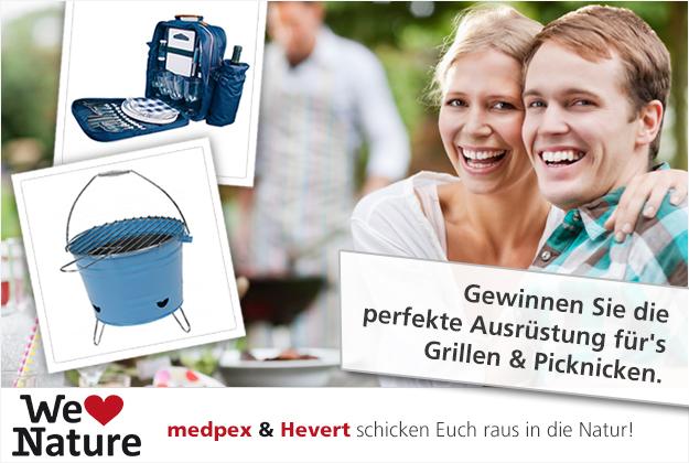 medpex & Hevert laden ein zum Grillen