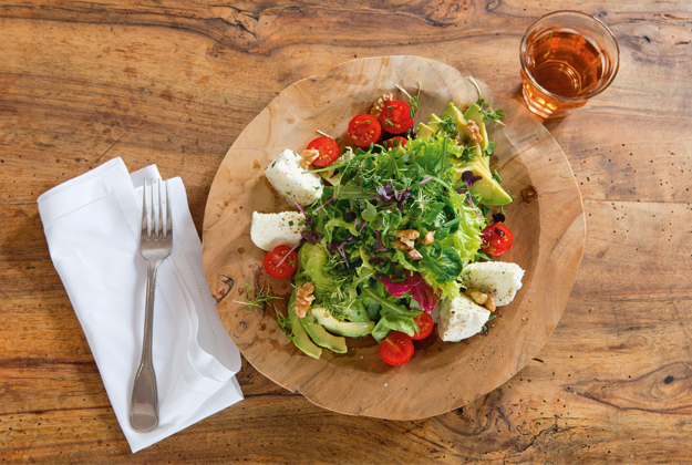 Sommerliche Blattsalate