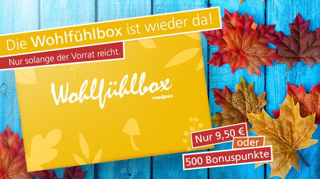 medpex Wohlfuehlbox Herbst 2015