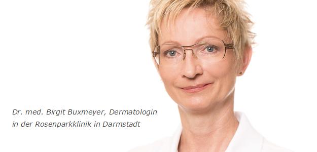 Dr. med. Birgit Buxmeyer,  Dermatologin