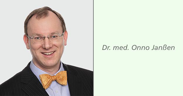 Experteninterview mit Dr. med. Onno Janßen