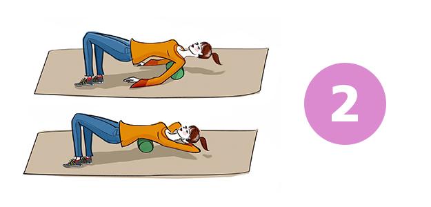Übungen zur Brustwirbelsäule