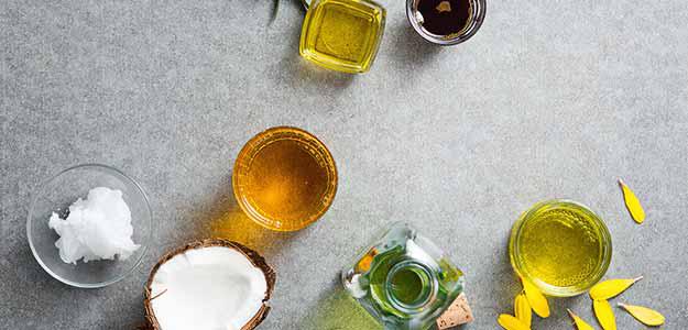 Unsere kleine Öl-Kunde mit den verschiedensten Ölen.