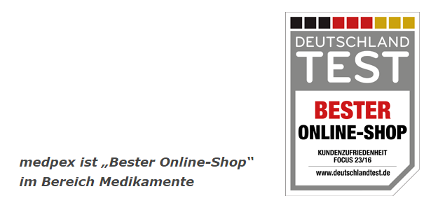 """Wir sind die Nr. 1 in der Branche Medikamente und wurden als """"Bester Online-Shop"""" ausgezeichnet!"""