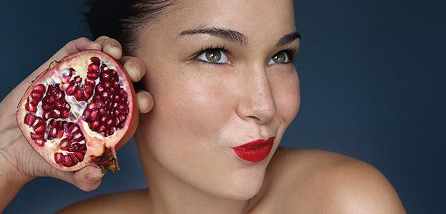 Granatapfel für Ihre Haut