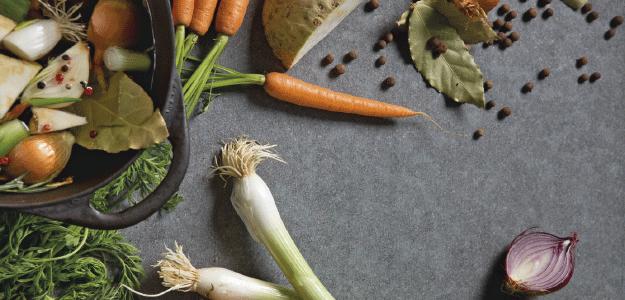 Gemüse für Suppen